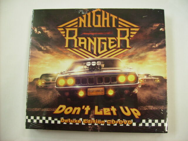 NIGHT RANGER - DON'T LET UP - CD+DVD NEW SEALED 2017 - DELUXE EDITION
