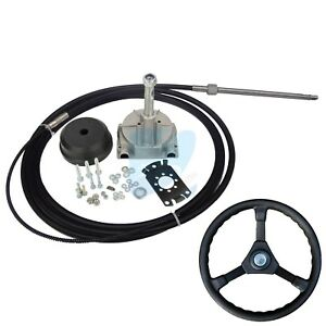 15ft Single Turbine Rotary Outboard Steering System W