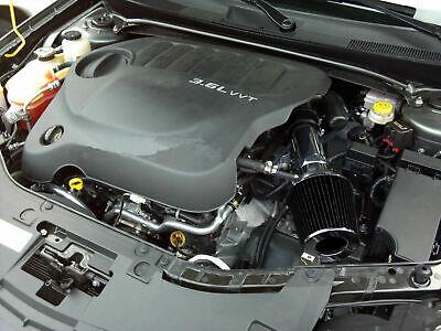 BLACK Short Ram Air Intake Induction Kit Filter For 07-11 Acadia 3.6L V6