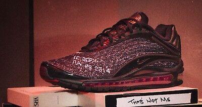 Nike x Skepta Air Max Deluxe nie schlafen auf Tour schwarz 5 6 7 8 9 10 11 12 SK 97 | eBay