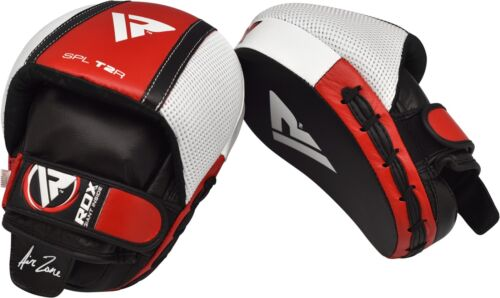 RDX Boxing Focus Pads Hook and Jab MMA Boxing Kick Thai Gloves Muay Curved Mitt