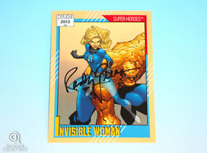 2013-Fleer-Marvel-Retro-Invisible-Woman-Autograph-Card-10-Randy-Queen-Impel