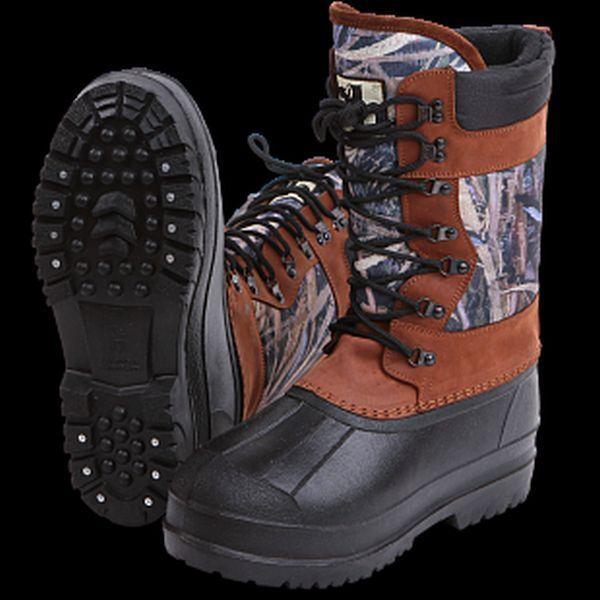 Haskl-Extra  Waterproof Heat-Insulated Hunter Fishing Winter Snow Boots - 40C