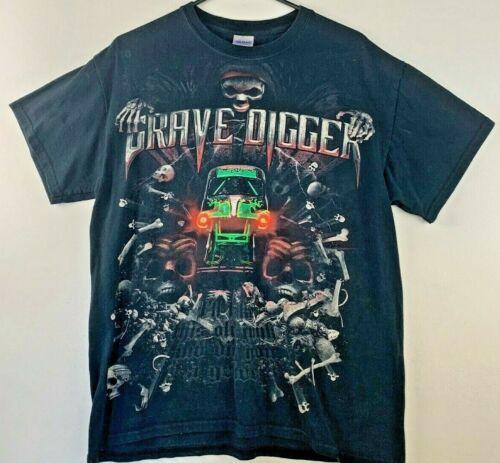 Vintage Grave Digger Monster Truck T-Shirt Medium