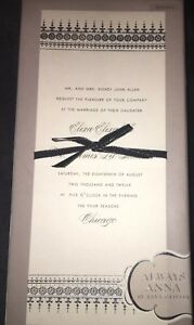 25 Bonus Elegant Wedding Invitation Kit Silver Cream W Formal