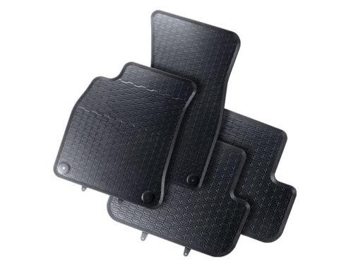 Gummifussmatten Satz Audi A4 8K vorn hinten Gummimatten Gummi Fußmatten Matten