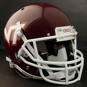 VIRGINIA-TECH-HOKIES-Football-Helmet-FRONT-TEAM-NAMEPLATE-Decal-Sticker