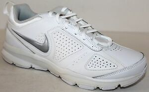 reputable site b0f93 c918f Image is loading Nike-T-Lite-XI-White-Leather-Womens-Athletic-