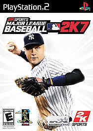 Major League Baseball 2K7 (Sony PlayStation 2, 2007)