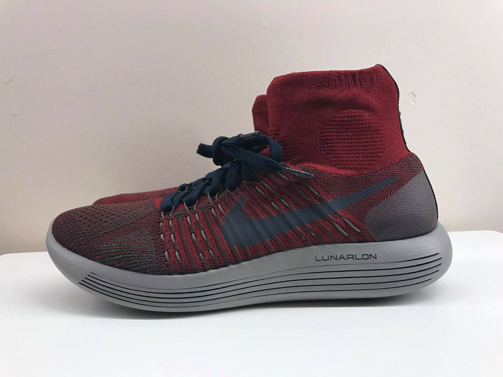 Nike 8 Lunarepic Flyknit Gyakusou Undercover Running Shoes Red 8 Nike 8.5 9 823113 602 7e6259