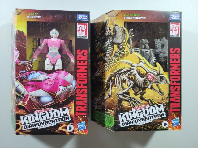 transformers war for cybertron Arcee And Ractonite