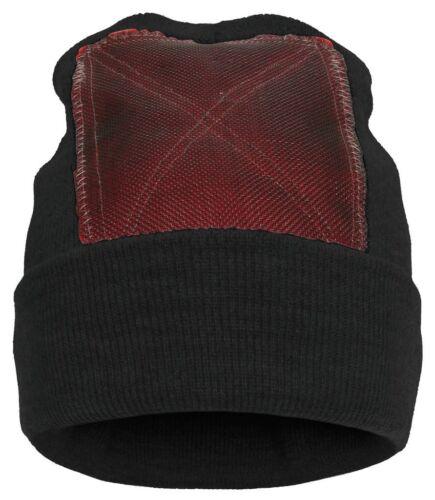 black BACKSPIN Function Wear Beanie // Headspin-Cap OneSize