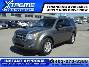 2012 Ford Escape XLT *INSTANT APPROVAL* APPLY NOW
