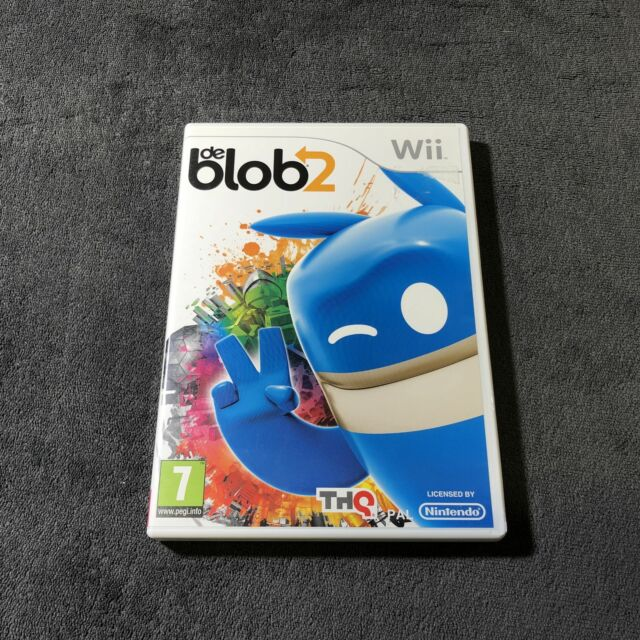 Nintendo Wii De Blob 2 FRA CD état neuf