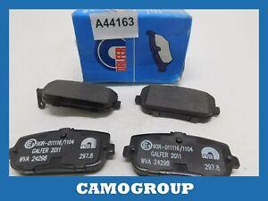 Pills Rear Brake Pads Pad FIAT 124 Mazda MX-5 20978