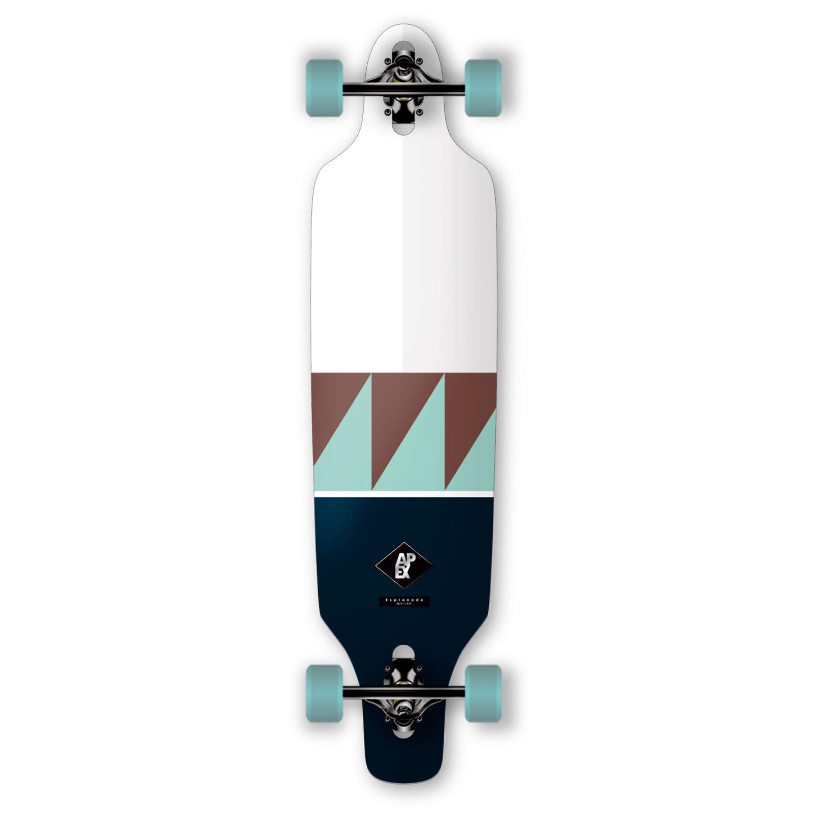 Apex longboard completamente Board explanada mk2 drop through 97,8cm