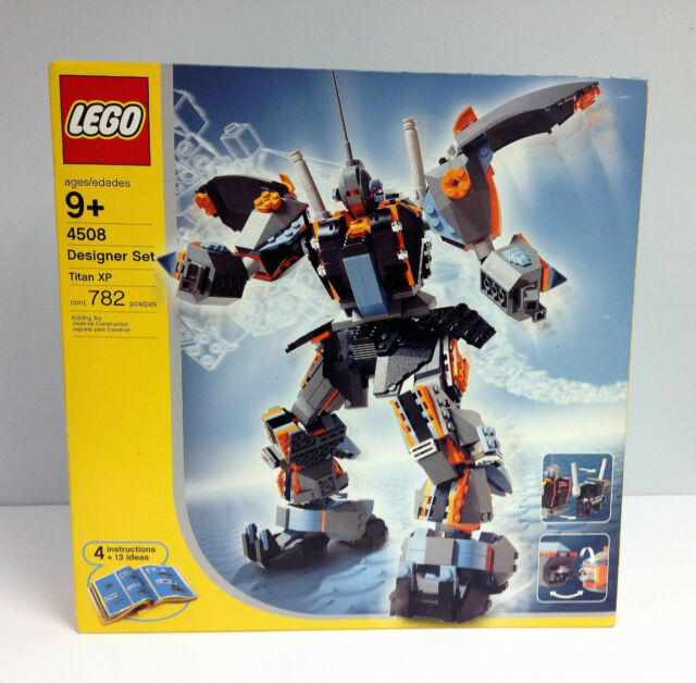 Lego Designer Set Titan Xp 4508 For Sale Online Ebay
