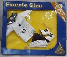 """VINTAGE 1960s in scatola Faerie Glen 9"""" Bambola Vestito Cappotto Invernale Stivali #563"""