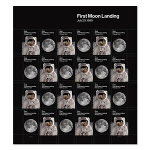 USPS-New-1969-First-Moon-Landing-Pane-of-24