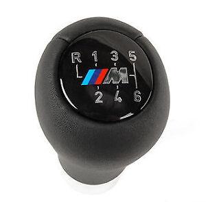 Genuine-BMW-6-Speed-M-Leather-Gear-Knob-ZHP-330i-E46-E60-E61-E63-E64-F25-F26