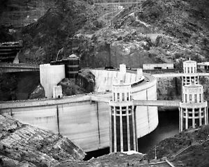 Details about HOOVER DAM Colorado River Glossy 8x10 Photo Black Canyon  Print Wall Art Poster