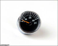 Micro Gauge 1 Inch 300 Psi Pressure For Hpa Nitro Air Co2 Tank Systems
