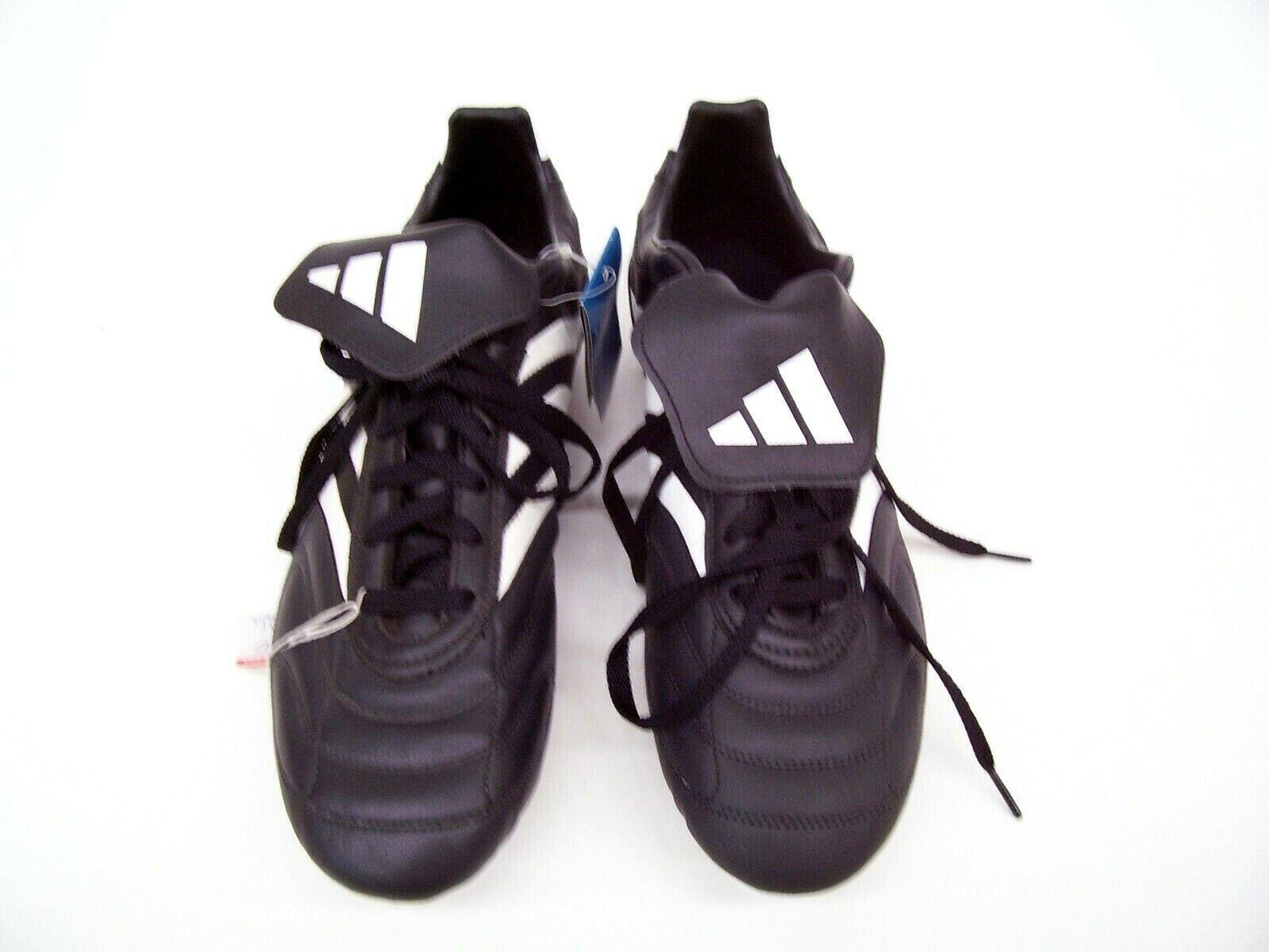 ADIDAS MENS FOOTBALL SOCCER Stiefel CLEATS LACE UP KORESCO SG schwarz Weiß 670975