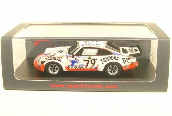 PORSCHE 911 RS No. 79 LeMans 1977 (J. - L. Ravenel-J. Ravenel-J. - M. detrin)