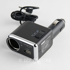YAC-TP-173-FM-Transmitter-for-iPhone-amp-iPod-Touch-with-USB-Port-Charger