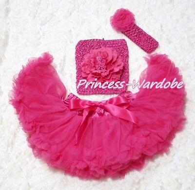Crochet Hat /& Hair Clip Set Ribbon Bow for Pettiskirt