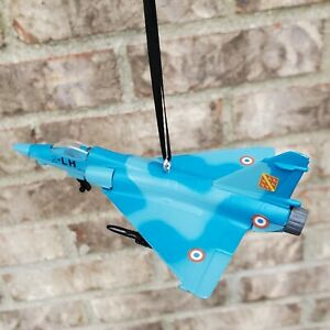 Mirage 2000 Airplane Aircraft Combat Fighter Jet Diecast Christmas Ornament FAF