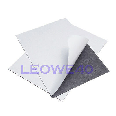 6 pieces A4 0.9mm soft magnetic sheets magnet dies craft self-adhesive