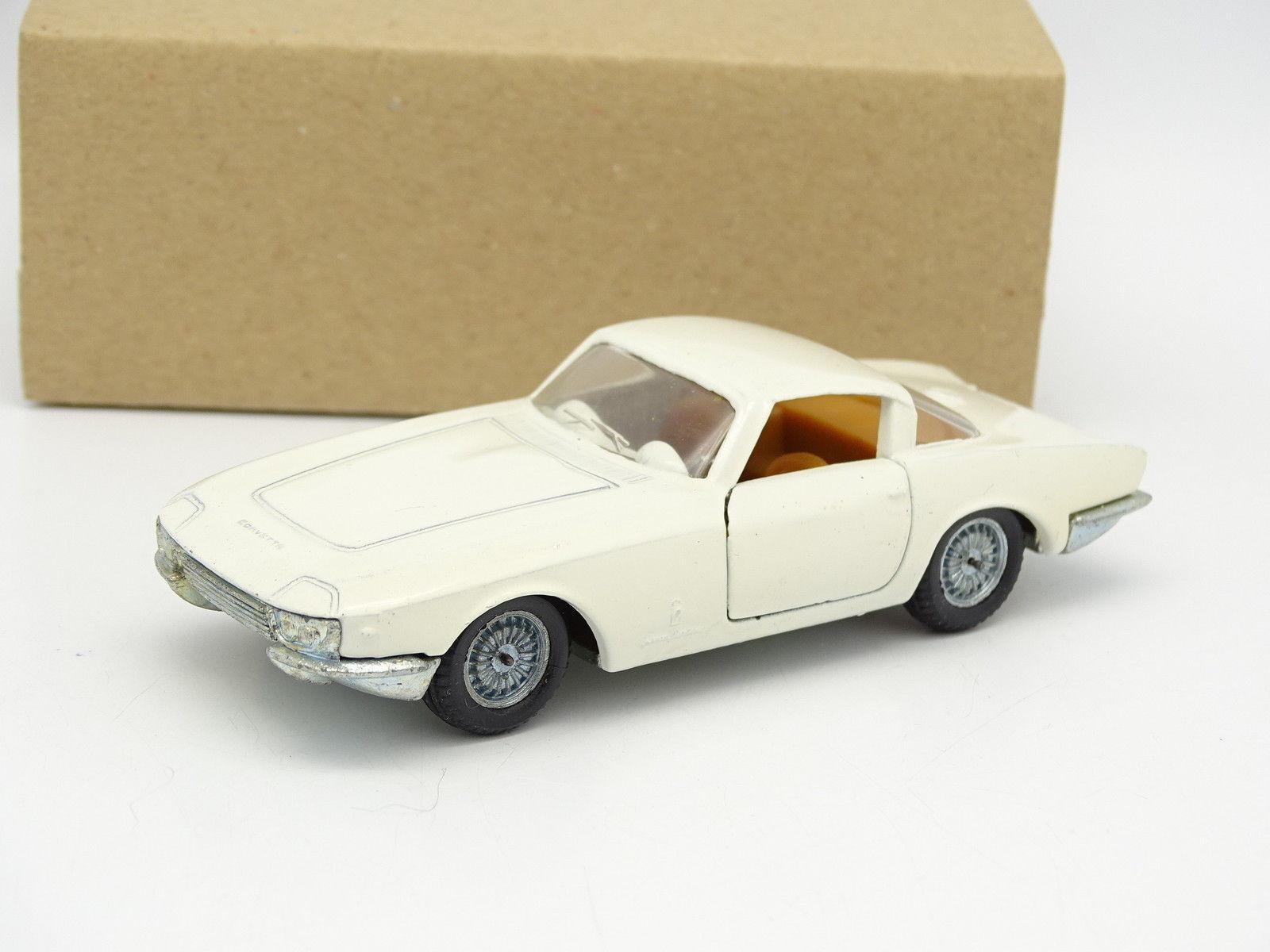 Politoys 1/43 - Chevrolet Corvette Pininfarina Rondine Bianco