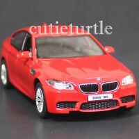 Rmz City 5 Bmw M5 4 Doors Sedan Diecast Toy Car 1:36 Red