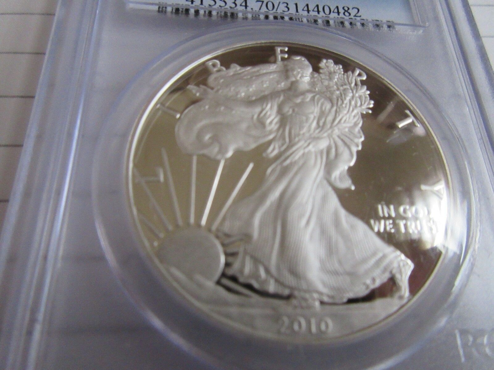 2010-W , Silver Eagle , PCGS , PR70DCAM