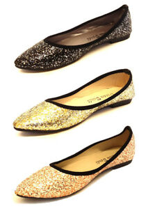 LADIES-WOMENS-FLATS-SLIP-ON-SHOES-POINTED-BALLET-BALLERINA-CASUAL-PUMPS-SIZE