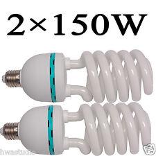 CL150x2 150W Bombillas Lámpara de fotografía Photostudio Luces Continuo E27