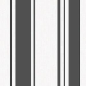 Fine-Decor-FD41727-Amelia-Rayure-Papier-Peint-Noir-Blanc-Metallique