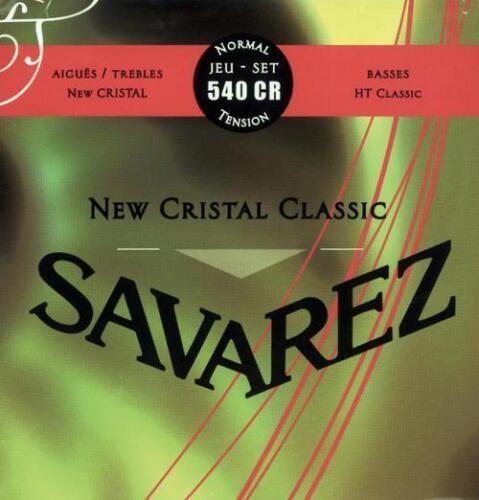 standard tension Nylonsaiten Konzertgitarre Savarez 540CR New Cristal Classic