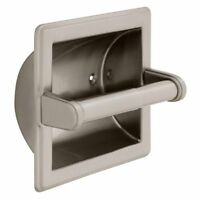 Franklin Brass 9097sn Recessed Paper Holder, Satin Nickel , New, Free Shipping