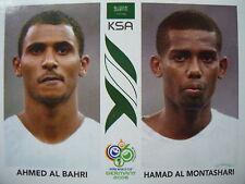 Panini 590 Ahmed Al Bahri /Hamad Al Montashari Saudi Arabia FIFA WM 2006 Germany