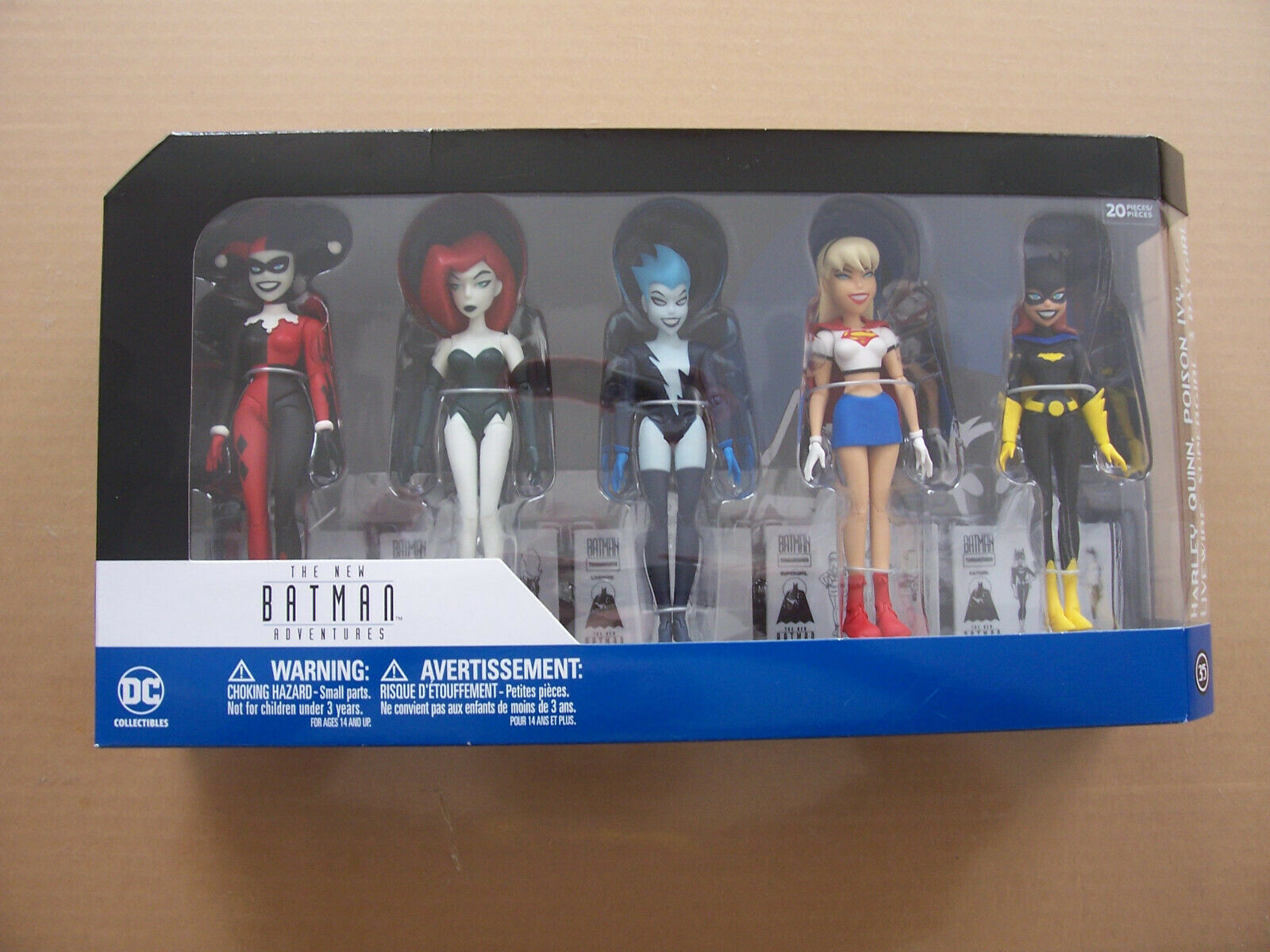 DC Collectibles - Batman Animated - GIRLS' NIGHT OUT - 7  Figs 5-Pack LIVEWIRE