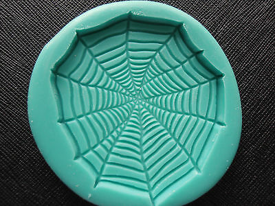Silicone Mould HALLOWEEN SPIDERWEB   Cake Decorating Fondant / fimo mold