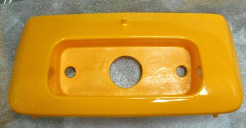 HONDA TRX250 250 RECON YELLOW TOOLBOX DOOR STORAGE BOX COVER,TAILLIGHT HOLDER