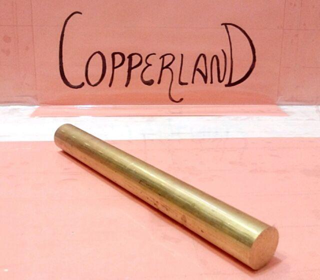 "1//2 3 pc C360 brass .5/"" round rod stock 8/"" long lathe machinist new solid bar"