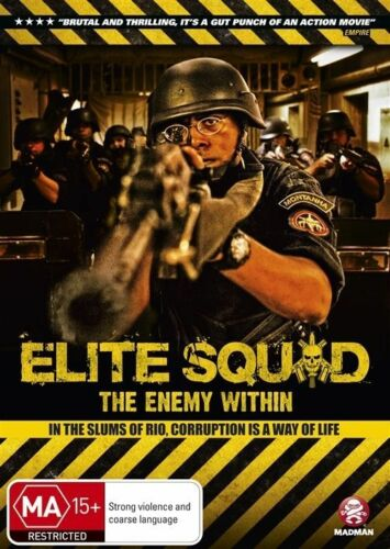 1 of 1 - Elite Squad - The Enemy Within (DVD, 2012) - Region 4
