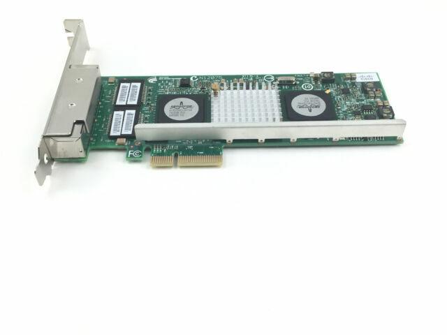 Broadcom BCM95709A0906G Dell R519P 4-Port PCIe x4 Gigabit Ethernet NIC
