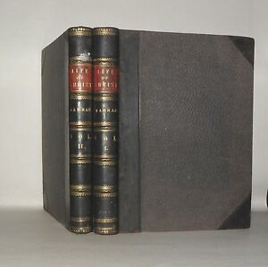 The-life-of-Christ-Frederic-W-Farrar-complete-in-2-volumes-c1880-HB