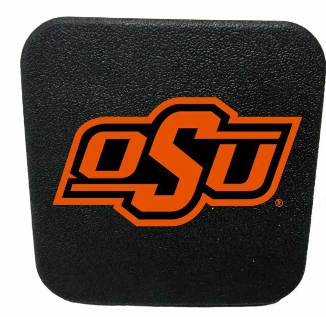 "Oklahoma State Cowboys 2/"" Hitch Receiver Plug Cover OSU"