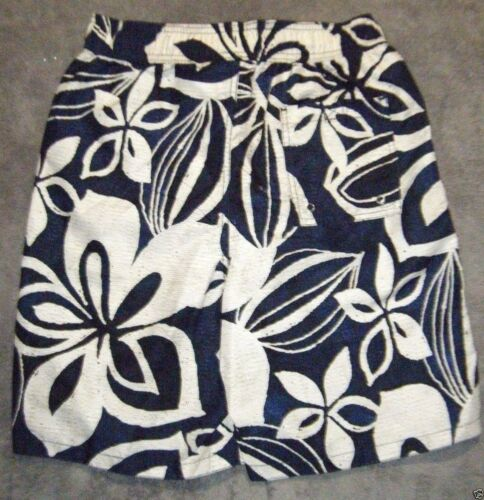 New Swim board surf trunks swimsuit Shorts Navy blue Floral 28 30 36 40 42 44 46